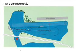 Plan de situation du bassin